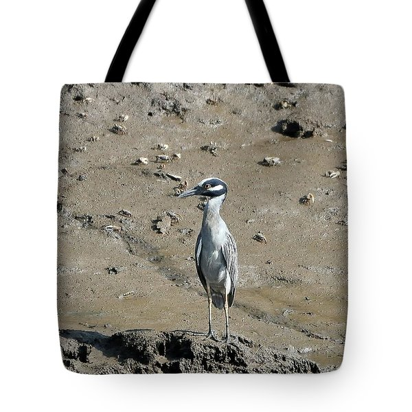 Yellow-crowned Night-heron Tote Bag by Al Powell Photography USA