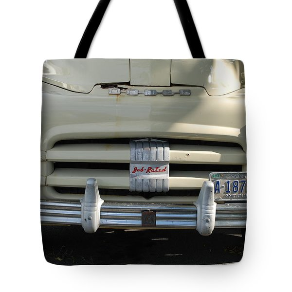 Yellow Dodge Tote Bag by Rob Hans
