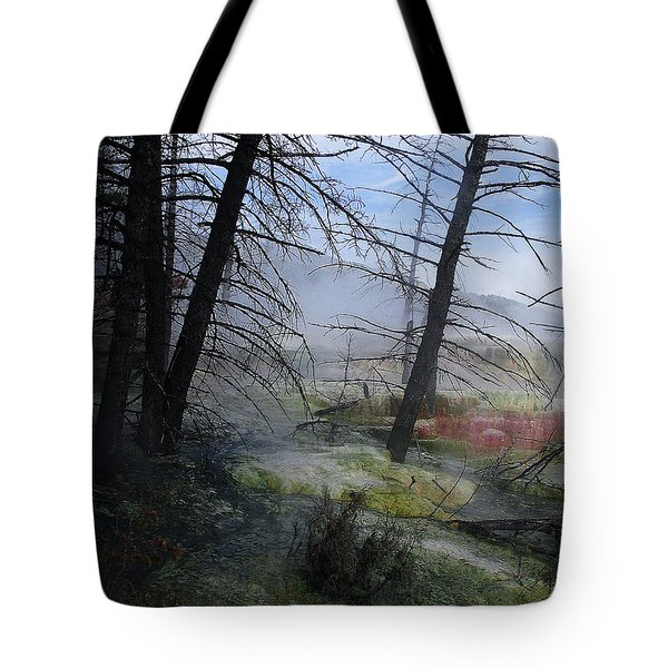 Yellowstone National Park 4 Tote Bag by Xueling Zou