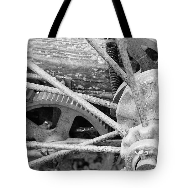 Yesteryear Tote Bag by Michael Peychich