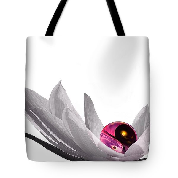 Yin Yang Tote Bag by Jacky Gerritsen
