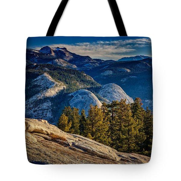 Yosemite Morning Tote Bag by Rick Berk