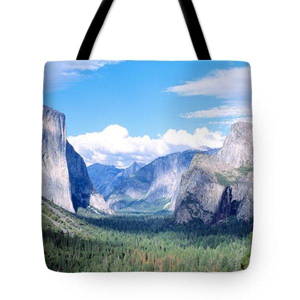 Yosemite National Park, California, Usa Tote Bag by Panoramic Images
