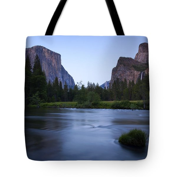Yosemite Twilight Tote Bag by Mike  Dawson