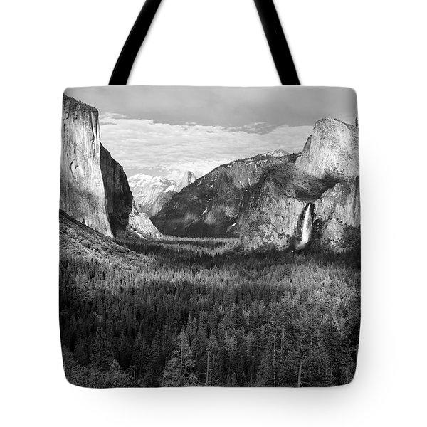 Yosemite Valley Tote Bag by Sandra Bronstein