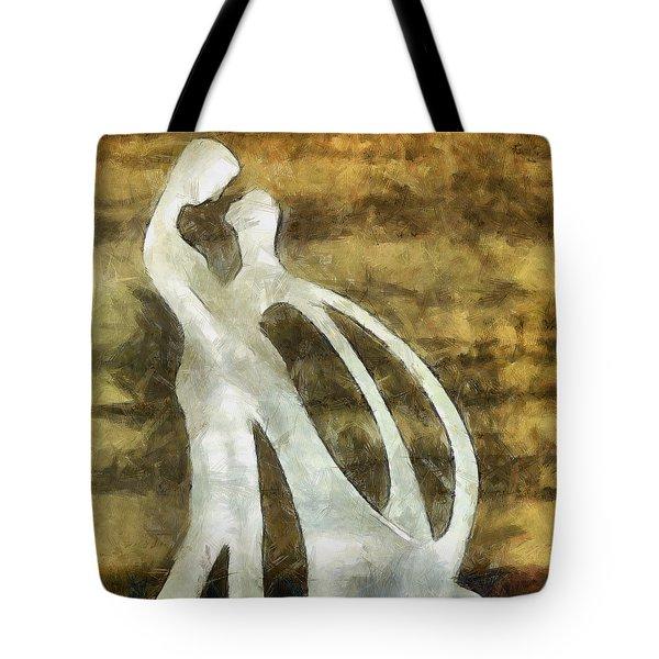 You And I 1 Tote Bag by Angelina Vick
