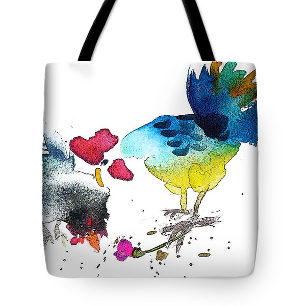 You Are my Sweet Heart Tote Bag by Miki De Goodaboom