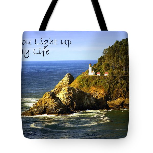 You Light Up My Life 1 Tote Bag by Marty Koch