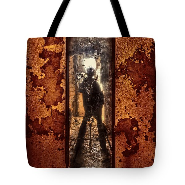 You Shot A Hole In My Soul Tote Bag by Evelina Kremsdorf