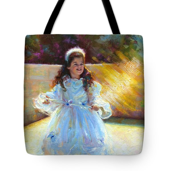 Young Queen Esther Tote Bag by Talya Johnson