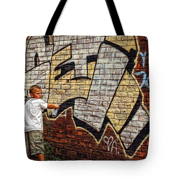 Young Vandal Too Tote Bag by Gordon Dean II
