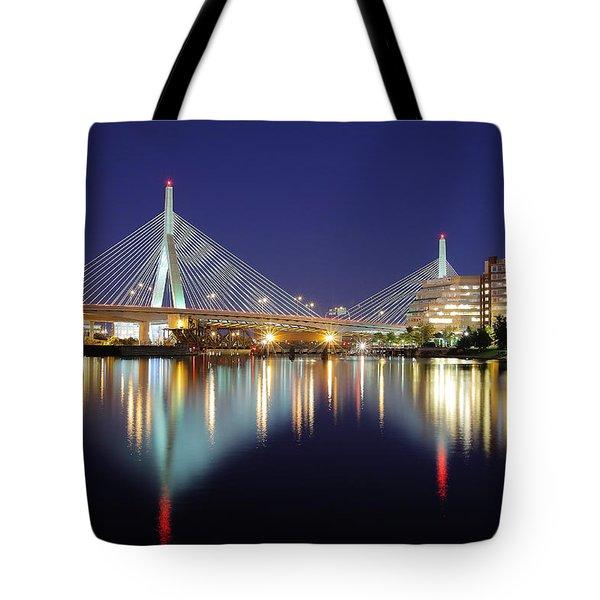 Zakim Aglow Tote Bag by Rick Berk