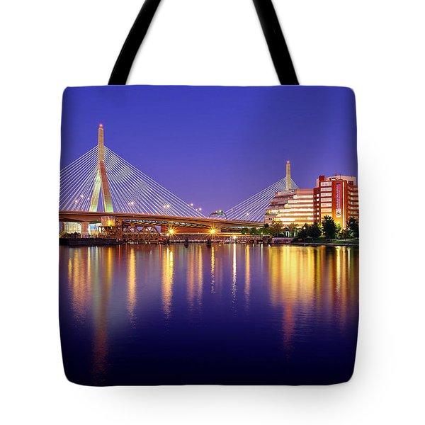 Zakim Twilight Tote Bag by Rick Berk