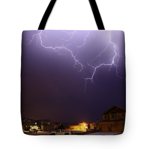 ZAP Tote Bag by Shane Bechler