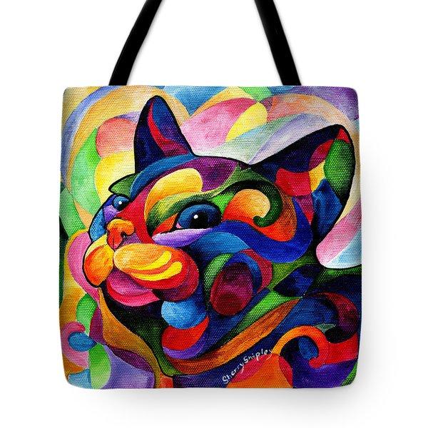 Zen Ziggy Tote Bag by Sherry Shipley