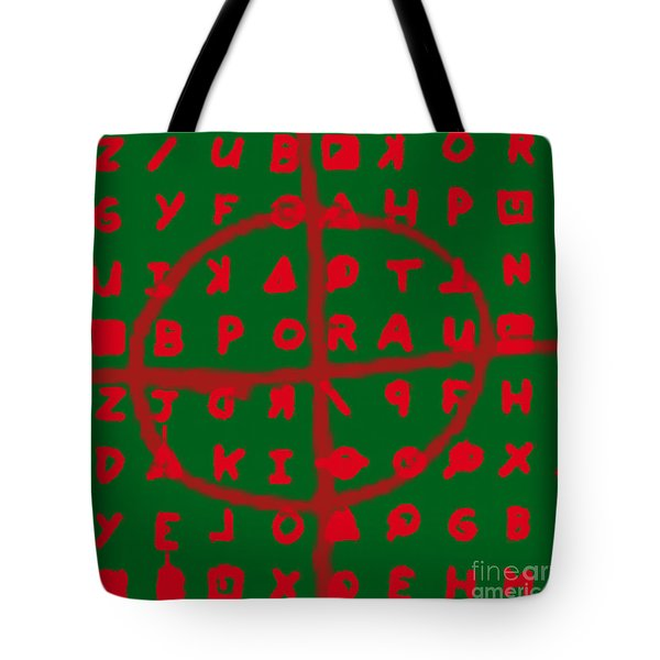 Zodiac Killer Code and SIgn 20130213 Tote Bag by Wingsdomain Art and Photography