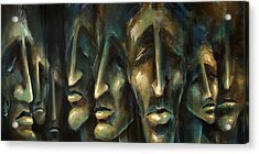 ' Jury Of Eight ' Acrylic Print by Michael Lang
