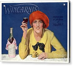 1910s Uk Wincarnis Wine Fortified Acrylic Print by The Advertising Archives
