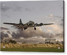 B17- 'airborne' Acrylic Print by Pat Speirs
