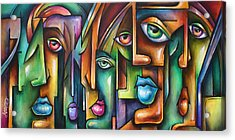 ' Believers ' Acrylic Print by Michael Lang