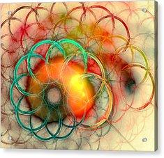 Chain Of Events Acrylic Print by Anastasiya Malakhova