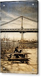 Dumbo Acrylic Print by Frank Winters
