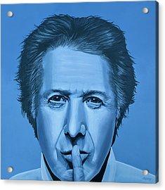 Dustin Hoffman Painting Acrylic Print by Paul Meijering