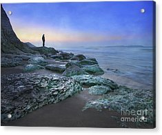 Evening View Acrylic Print by Roy  McPeak