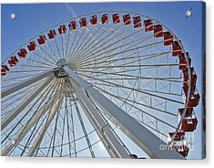 Ferris Wheel Acrylic Print by Oleksandr Koretskyi