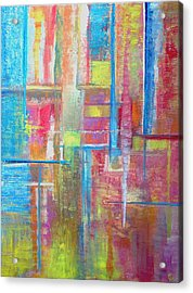 ... For A Trickle Of Water  Acrylic Print by Jeremy Aiyadurai