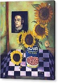 Goyas Acrylic Print by Leah Saulnier The Painting Maniac