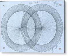 Magnetism Acrylic Print by Jason Padgett