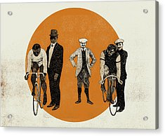 Old Time Trial Acrylic Print by Eliza Southwood