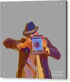Paparazzi Acrylic Print by Edward Fielding
