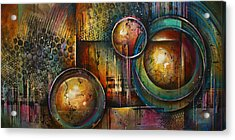 ' Remaining Elements' Acrylic Print by Michael Lang