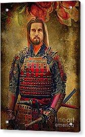 Samurai Acrylic Print by Andrzej Szczerski