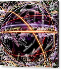 The Electric Body Feel That Mdma Brings To The Acid Body Load Acrylic Print by Sir Josef Social Critic - ART