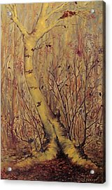 The  Loving  Tree Acrylic Print by Beth Arroyo