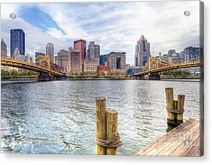 0310 Pittsburgh 3 Acrylic Print by Steve Sturgill