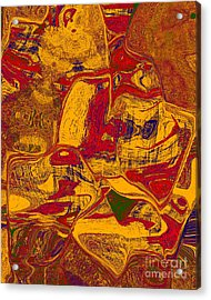 0518 Abstract Thought Acrylic Print by Chowdary V Arikatla