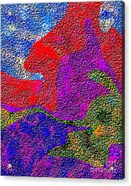 0732 Abstract Thought Acrylic Print by Chowdary V Arikatla