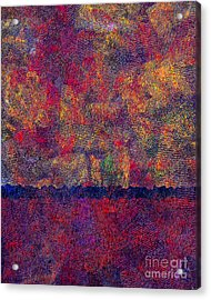 0799 Abstract Thought Acrylic Print by Chowdary V Arikatla