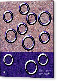0235 Abstract Thought Acrylic Print by Chowdary V Arikatla