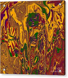 0478 Abstract Thought Acrylic Print by Chowdary V Arikatla