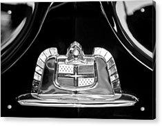 1950 Lincoln Cosmopolitan Limousine Emblem Acrylic Print by Jill Reger