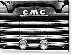 1952 Gmc Suburban Grille Emblem Acrylic Print by Jill Reger