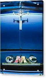 1954 Gmc Pickup Truck Hood Ornament - Emblem Acrylic Print by Jill Reger