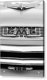 1956 Gmc 100 Deluxe Edition Pickup Truck Acrylic Print by Jill Reger