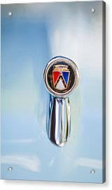 1963 Ford Falcon Futura Convertible  Hood Ornament Acrylic Print by Jill Reger