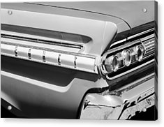 1964 Mercury Comet Taillight Emblem Acrylic Print by Jill Reger